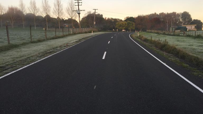 Hall Road in Te Kauwhata is one of the roads in the Waikato District with its speed limit changing from 100kmh to 80kmh next month.