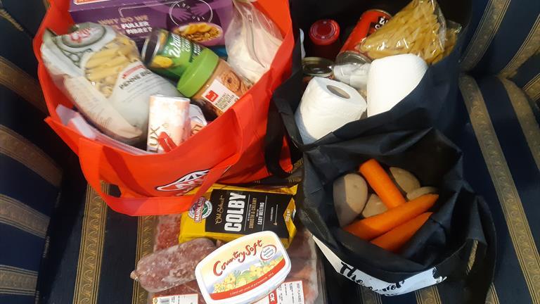 Food donations for the Ngaruawahia Foodbank