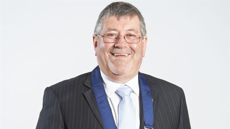 Mayor Allan Sanson