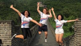 China - The Great Wall - Marina Wihongi, Caleb Monk and Tuene Henderson