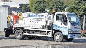 HydroTech have started work on Council's wastewater network
