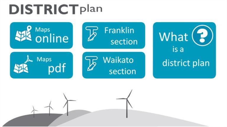 District Plan online