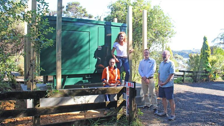 Opening of the Greenslade Road generator