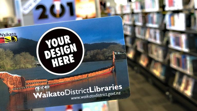 Design the new library card