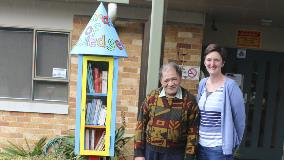 Little Libraries come to town