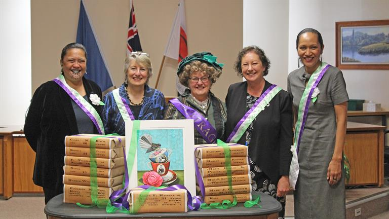 Suffrage 125 guest speakers
