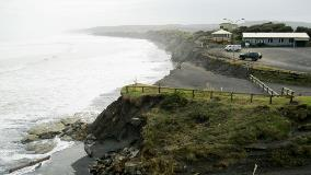 Sunset beach is an unpredictable area which could see either erosion or growth (accretion) of the beach depending on a number of environmental factors.