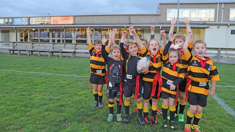 Taupiri Rugby Football Club has been funded by Council's Wellbeing Trust Fund
